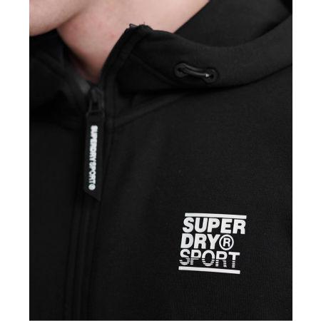 Мъжки суитшърт - Superdry GYMTECH ZIPHOOD - 4