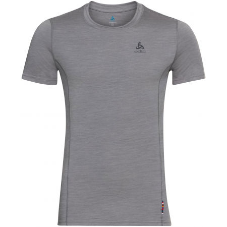 Odlo SUW MEN'S TOP CREW NECK S/S NATURAL+ LIGHT - Pánske tričko