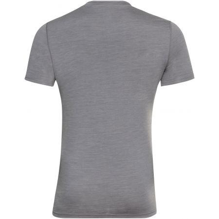 Pánske tričko - Odlo SUW MEN'S TOP CREW NECK S/S NATURAL+ LIGHT - 2
