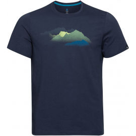 Odlo MEN'S T-SHIRT S/S CREW NECK NIKKO PRINT - Pánske tričko