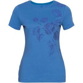 Odlo WOMEN'S T-SHIRT CREW NECK S/S KUMANO PRINT - Women's T-shirt