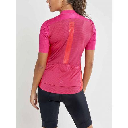 Women's cycling jersey - Craft HALE GLOW - 2