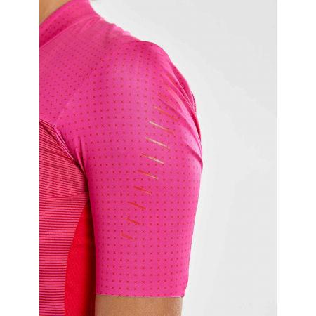 Women's cycling jersey - Craft HALE GLOW - 3