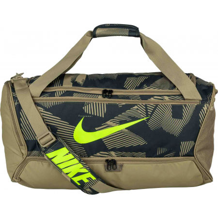 Nike BRASILIA M DUFF - 9.0 AOP - Sports bag