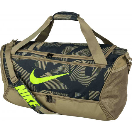 Športová taška - Nike BRASILIA M DUFF - 9.0 AOP - 2