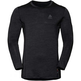 Odlo SUW MEN'S TOP CREW NECK L/S NATURAL+ LIGHT - Pánske tričko