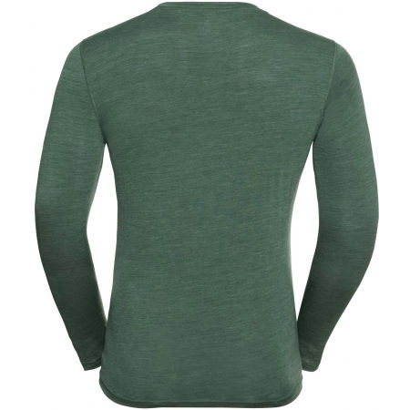 Pánske tričko - Odlo SUW MEN'S TOP CREW NECK L/S NATURAL+ LIGHT - 2