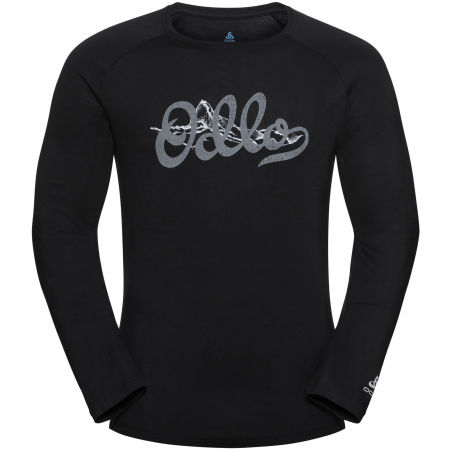 Odlo MEN'S T-SHIRT L/S CREW NECK CONCORD