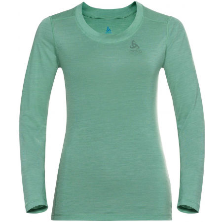 Dámske tričko - Odlo SUW WOMEN'S TOP CREW NECK L/S NATURAL+ LIGHT - 1