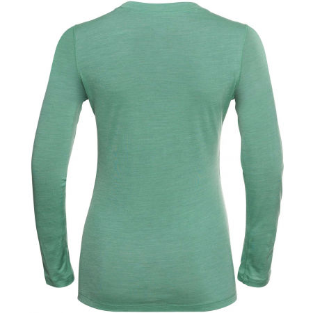 Dámske tričko - Odlo SUW WOMEN'S TOP CREW NECK L/S NATURAL+ LIGHT - 2