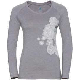 Odlo WOMEN'S T-SHIRT CREW NECK L/S CONCORD - Tricou de damă