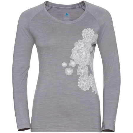 Odlo WOMEN'S T-SHIRT CREW NECK L/S CONCORD - Women's T-shirt