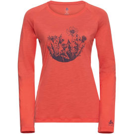 Odlo WOMEN'S T-SHIRT CREW NECK L/S CONCORD - Dámské tričko