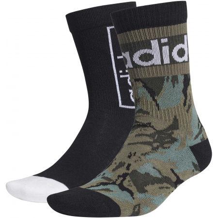 adidas CREW GR 2PP - Ponožky