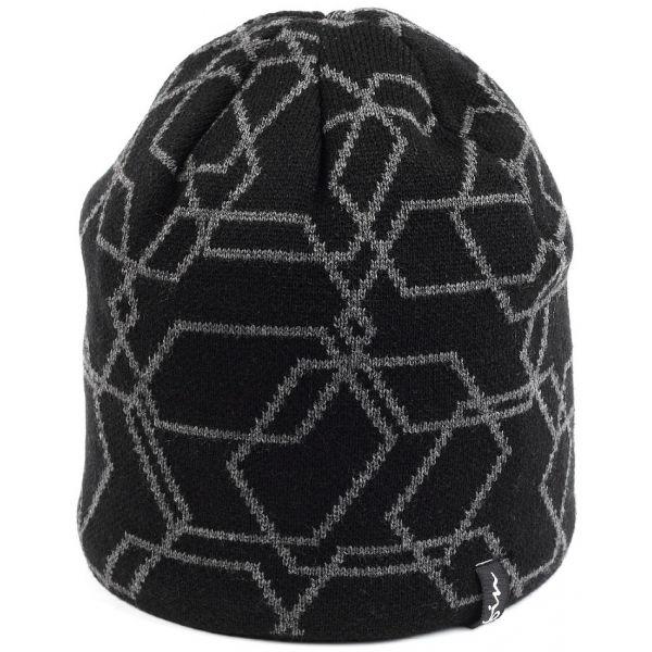 Finmark ZIMNÍ ČEPICE čierna UNI - Zimná čiapka
