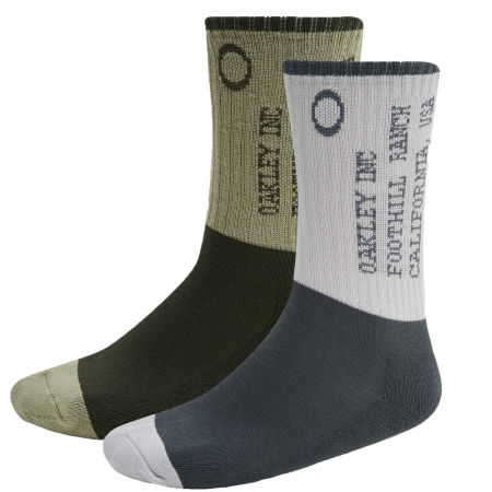 Oakley ICONIC OAKLEY SOCKS (2 PCS) - Ponožky