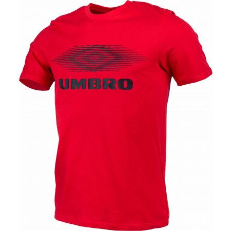 Pánske tričko - Umbro FW MOIRE GRAPHIC TEE - 2