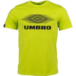 Umbro FW MOIRE GRAPHIC TEE - Pánske tričko