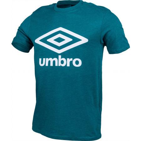 Pánské tričko - Umbro FW LARGE LOGO COTTON TEE - 2