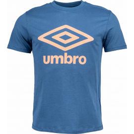 Umbro FW LARGE LOGO COTTON TEE - Pánske tričko
