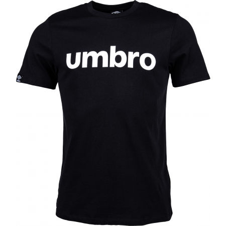 Umbro LINEAR LOGO GRAPHIC TEE - Pánske tričko