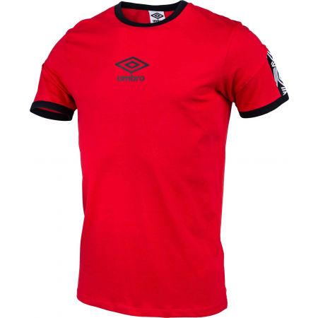 Pánske tričko - Umbro RINGER TAPED LOGO TEE - 2