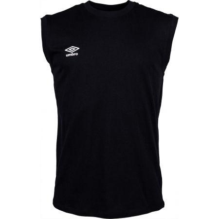 Pánske tričko - Umbro SMALL LOGO COTTON VEST - 1