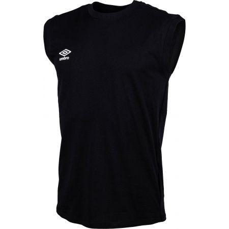 Pánske tričko - Umbro SMALL LOGO COTTON VEST - 2