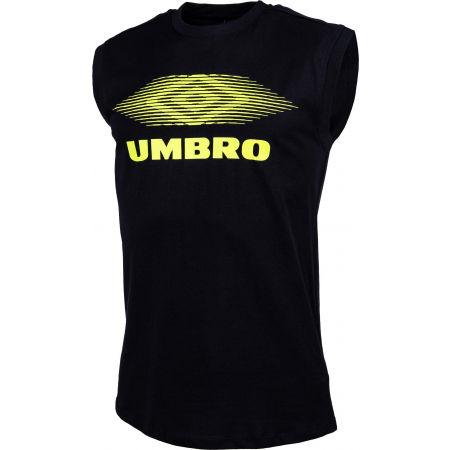 Pánske tričko - Umbro MOIRE GRAPHIC VEST - 2