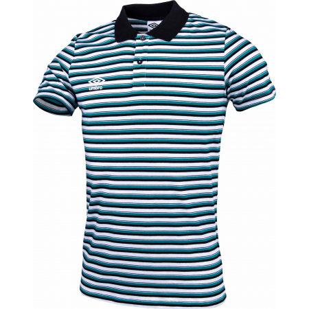 Pánske polo tričko - Umbro STRIPE COTTON POLO - 2