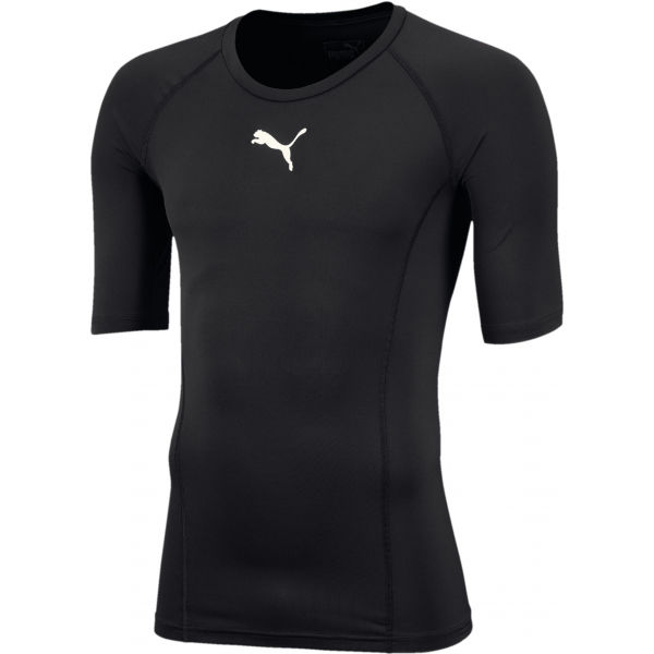 Puma LIGA BASELAYER TEE SS JR čierna 164 - Chlapčenské funkčné tričko