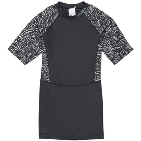 Dámske tričko do vody - O'Neill PW MIX S/SLV SKINS - 1