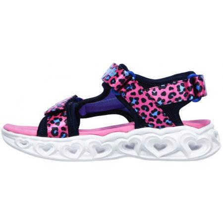 Girl's flashing light sandals - Skechers HEART LIGHTS - 3