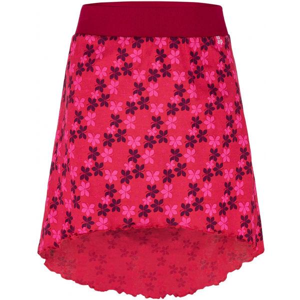 Loap BAJILA piros 122-128 - Lány szoknya