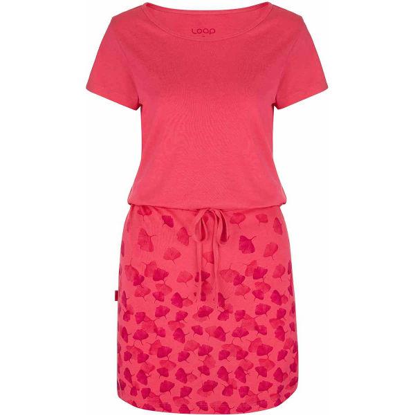 Loap ASCALA rózsaszín S - Női ruha