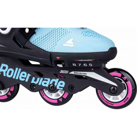 Detské inline korčule - Rollerblade MICROBLADE FREE G - 5