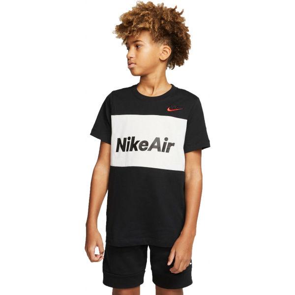 Nike NSW NIKE AIR TEE B fekete L - Fiú póló