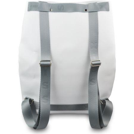 Női hátizsák - XISS SPLASHED WHITE CITY - 4