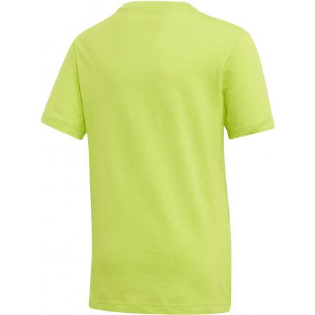 Chlapčenské tričko - adidas YB E LIN TEE - 2