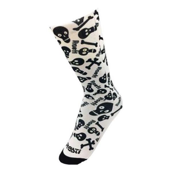 Rosti SKULL biela  - Ponožky