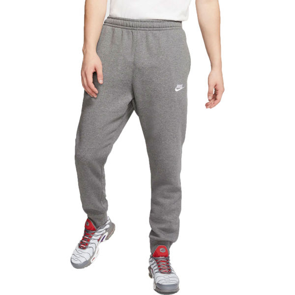 Nike SPORTSWEAR CLUB šedá XL - Pánské tepláky