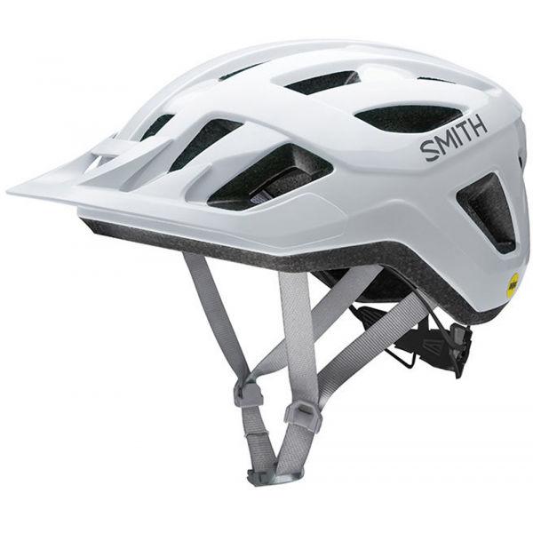 Smith CONVOY MIPS bílá (51 - 55) - Cyklistická helma