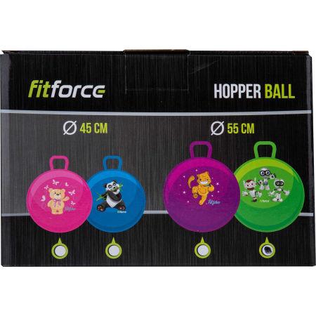 Детска  надуваема топка - Fitforce HOPPERBALL 55 - 2