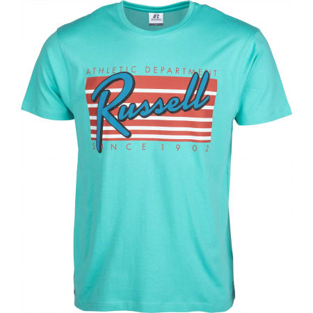 Pánske tričko - Russell Athletic MIAMI S/S CREWNECK TEE SHIRT - 1