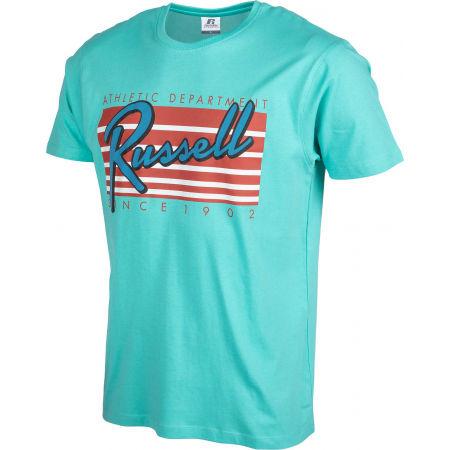 Pánske tričko - Russell Athletic MIAMI S/S CREWNECK TEE SHIRT - 2