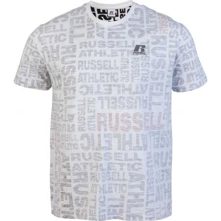 Pánské tričko - Russell Athletic AOP PRINTED S/S CREWNECK TEE SHIRT - 1