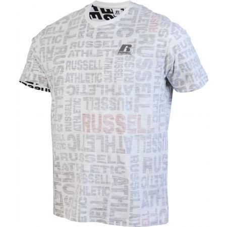 Pánské tričko - Russell Athletic AOP PRINTED S/S CREWNECK TEE SHIRT - 2