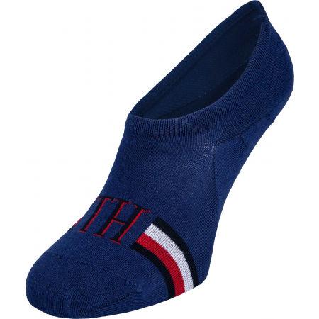 Pánske ponožky - Tommy Hilfiger MEN FOOTIE 2P ICONIC STRIPE - 4