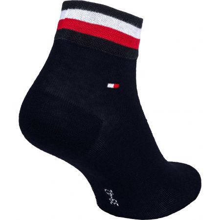 Pánske ponožky - Tommy Hilfiger MEN QUARTER 2P ICONIC STRIPE - 4