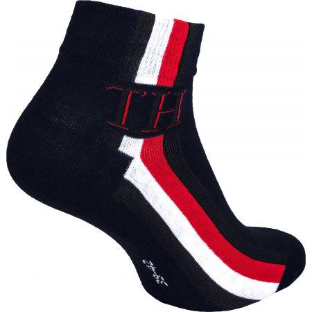 Pánske ponožky - Tommy Hilfiger MEN QUARTER 2P ICONIC STRIPE - 3